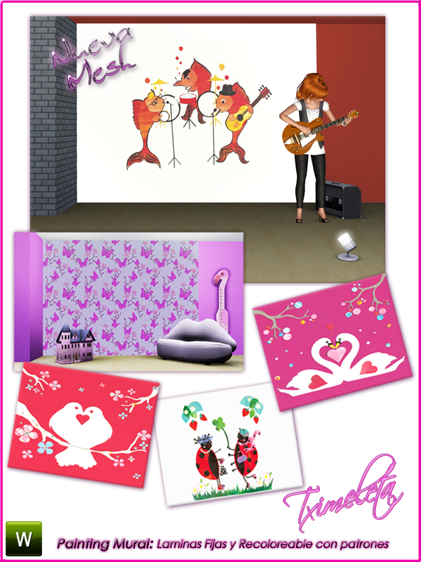Finds Sims 3 .:.7 - Agost - 2010 .:. Txime-PresentMural