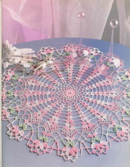 Doily, đồ trang trí, đồ dùng nhà bếp... Crochet25-2