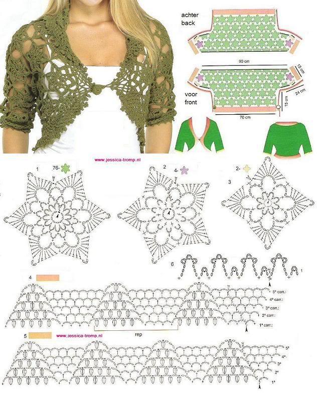 Mẫu móc áo ghép hoa (Game show) Bolero20crochet20p8vg7ms8