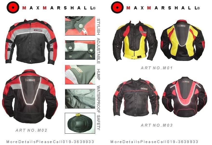 Mesh Jacket: Maxmarshall WebsitePromotion01