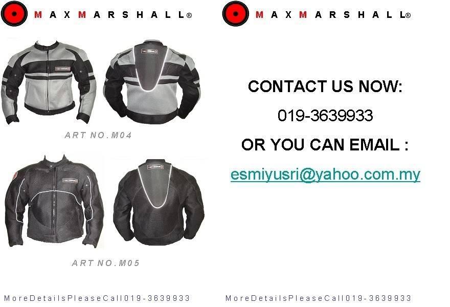 Mesh Jacket: Maxmarshall WebsitePromotion02