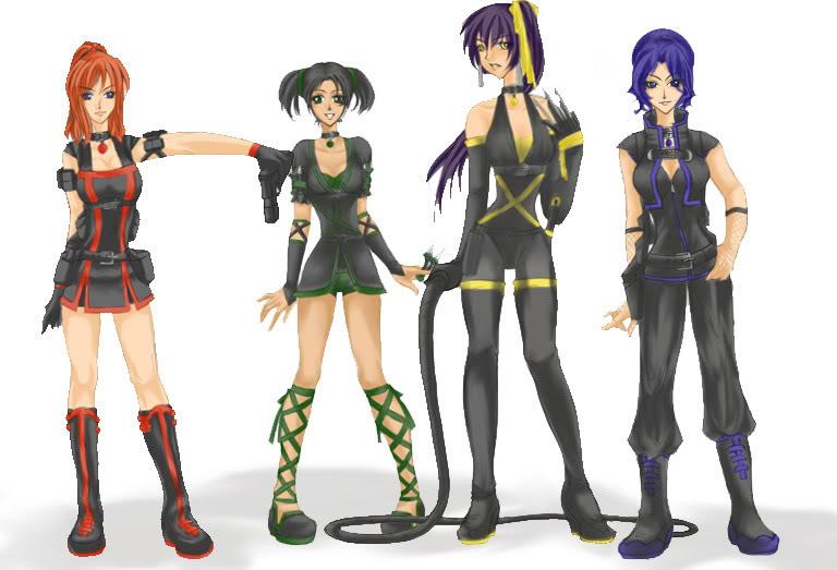Animal Lover _Hit_Back__Ninja_Uniforms_by_KitKat