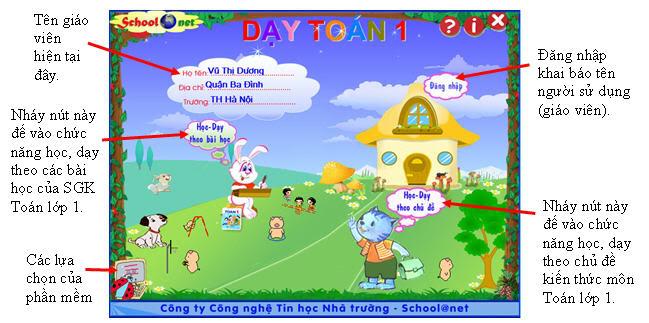[Chia sẻ] Phần mềm Dạy toán lớp 1 - School@net GT-Daytoan1_1