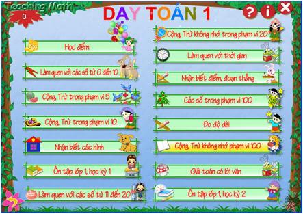 [Chia sẻ] Phần mềm Dạy toán lớp 1 - School@net GT-Daytoan1_3