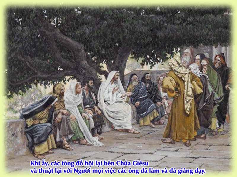 Kinh Thánh bằng hình: Chúa nhật XVI Thường niên - năm B 001-3