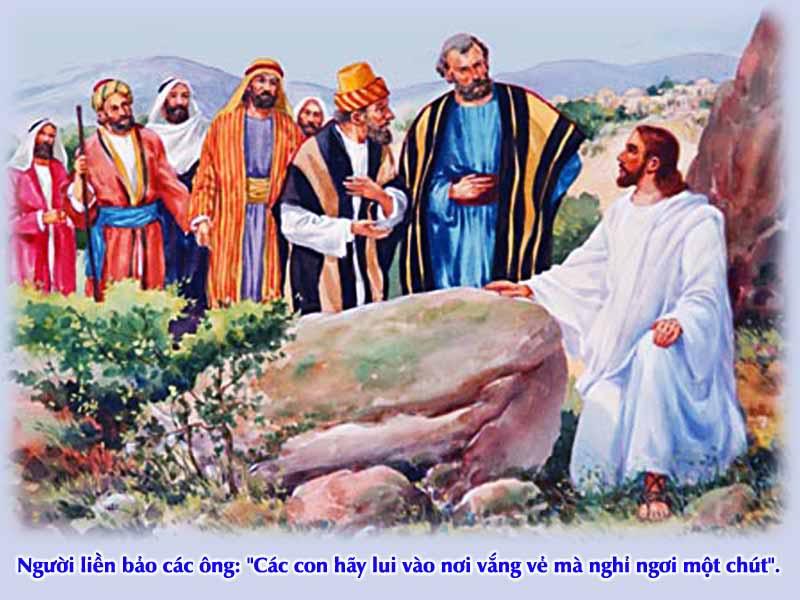 Kinh Thánh bằng hình: Chúa nhật XVI Thường niên - năm B 002-3