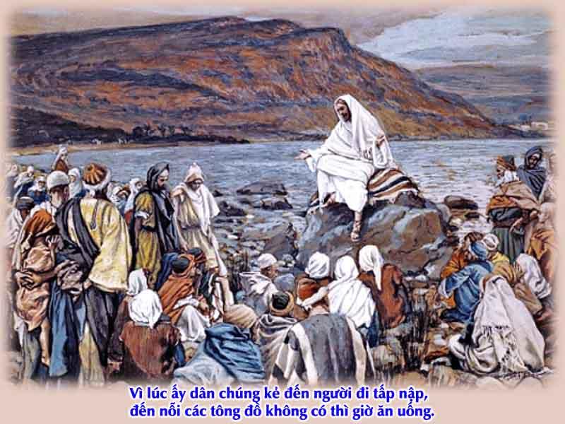 Kinh Thánh bằng hình: Chúa nhật XVI Thường niên - năm B 003-3