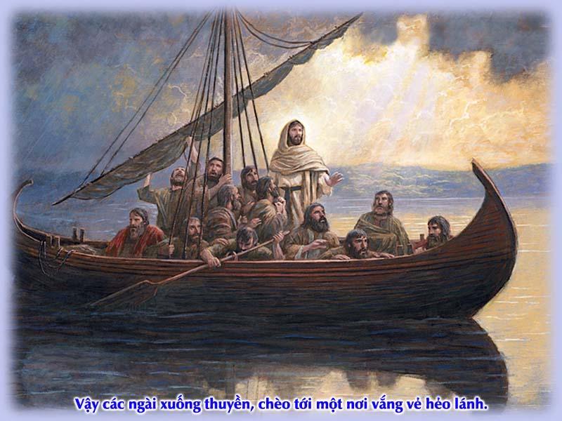 Kinh Thánh bằng hình: Chúa nhật XVI Thường niên - năm B 004-1