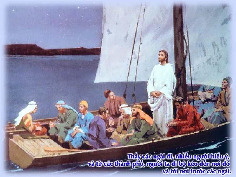 Kinh Thánh bằng hình: Chúa nhật XVI Thường niên - năm B 005-3