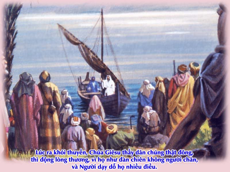Kinh Thánh bằng hình: Chúa nhật XVI Thường niên - năm B 006-1