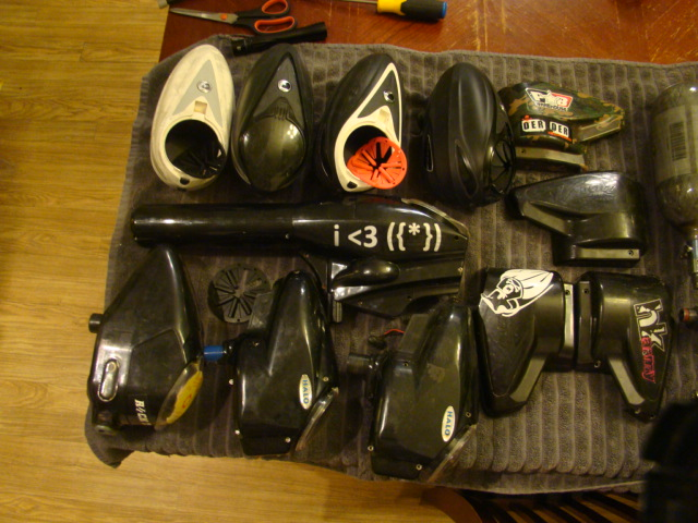 GEARBAG sale Something for Everyone... Paintball057