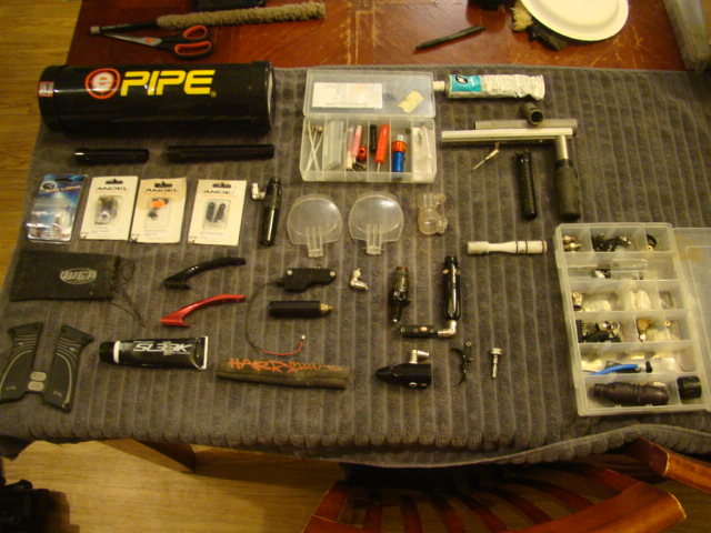 GEARBAG sale Something for Everyone... Paintball062