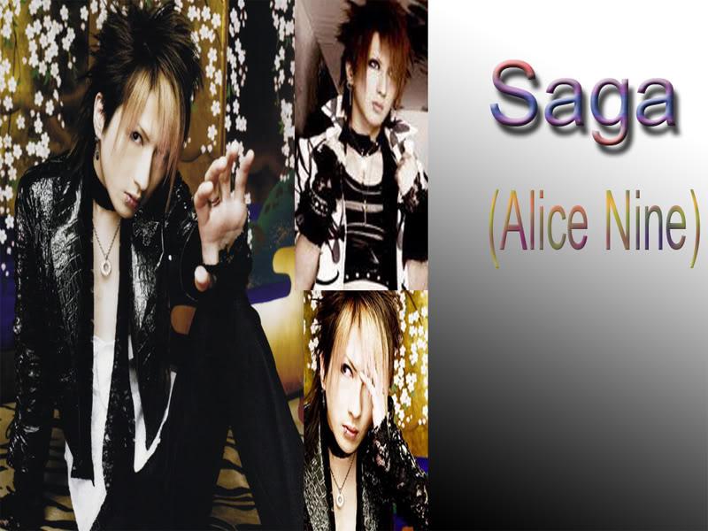 Alice nine !!!*¬¬* Saga