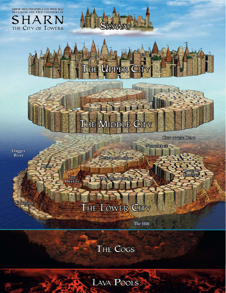 Sharn Is The Largest City In The Kingdom Of Breland And Indeed, The  Continent Of Khorvaire. It Is A Melting Pot Of All Races, ...