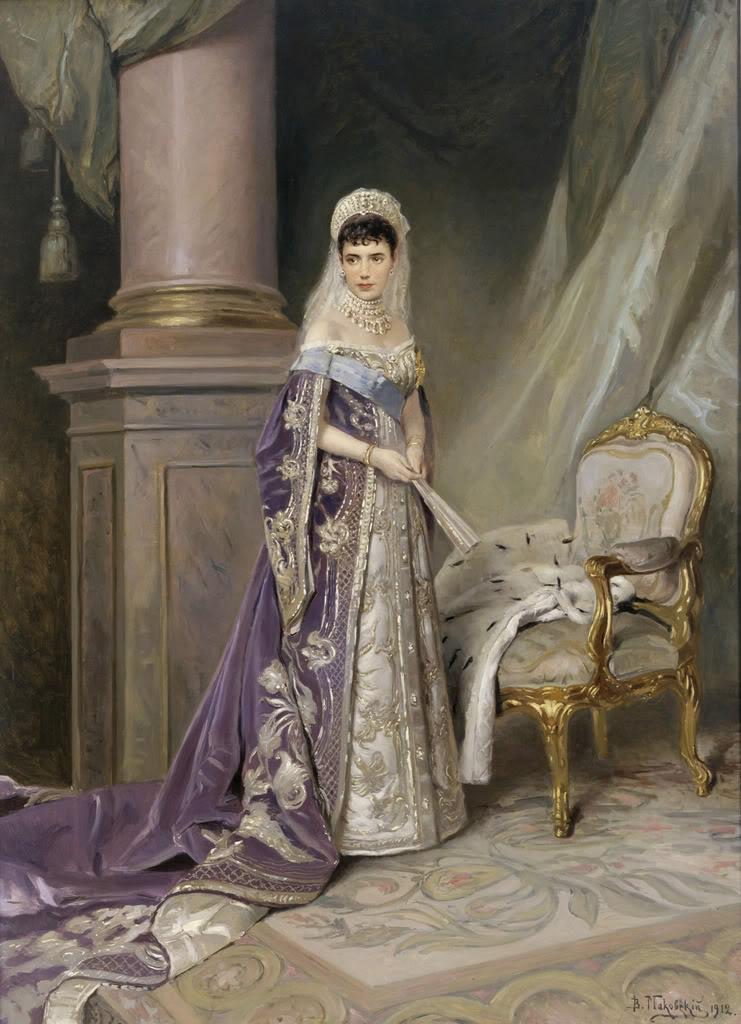 Alejandro III y María Feodorovna DagmarpaintedbyMakovski