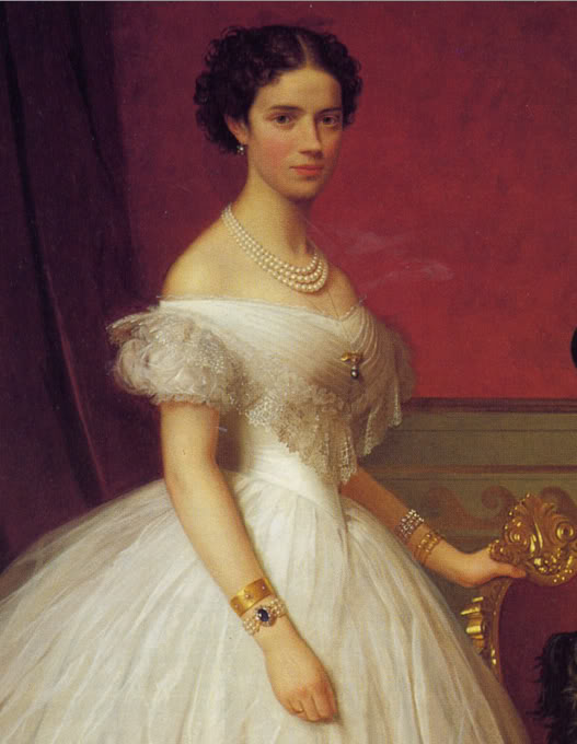 Alejandro III y María Feodorovna Minniecolourportrait