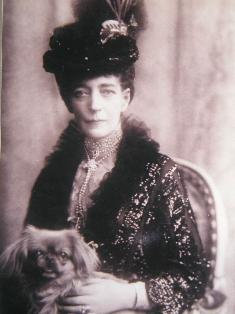 Alejandra y Eduardo VII QueenAlexandra