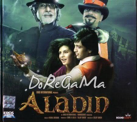 Disco de Aladin Aladin2009