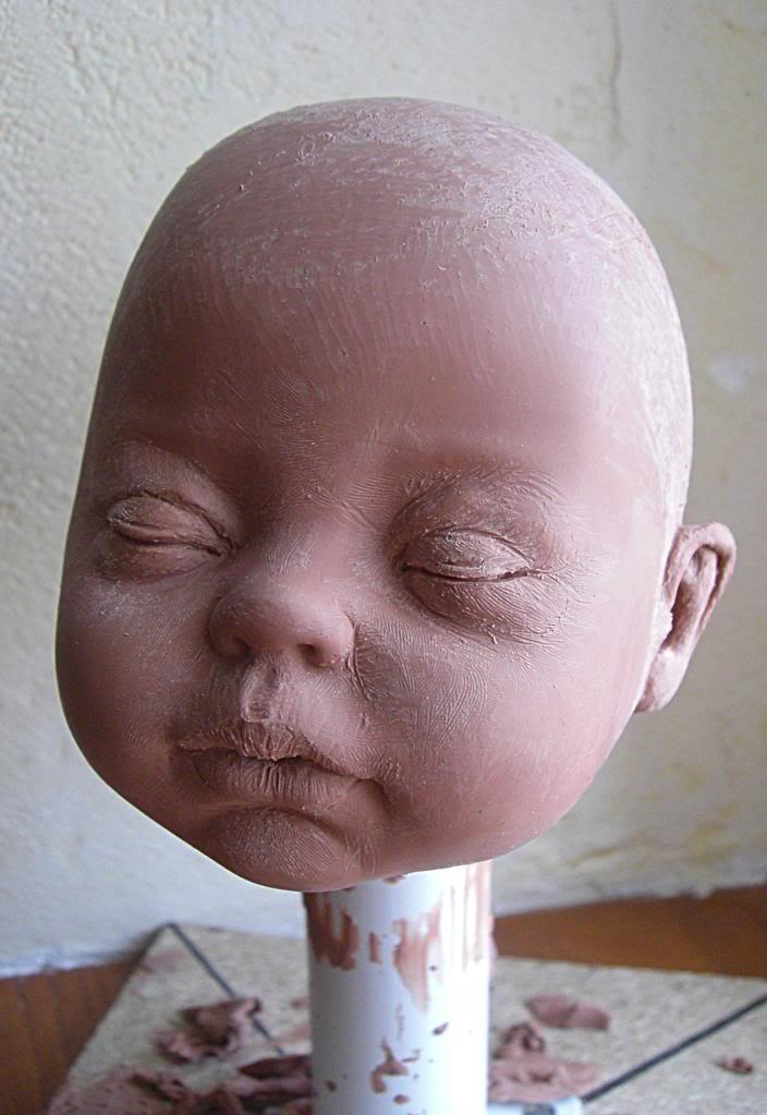 Sculpture de bébé Baby2