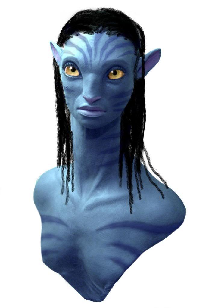 Custom Buste Neytiri & Jake Sully Avatar - Page 8 Testcouleurfinitions3