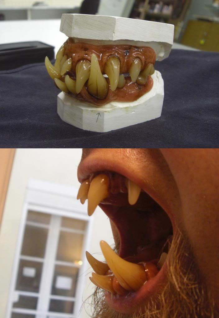 Prothèses dentaires de créature Dentsdmon2