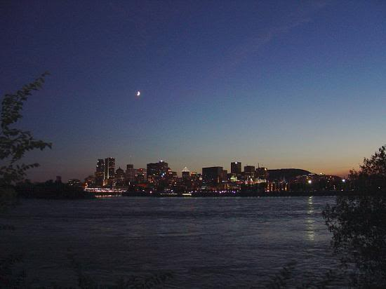 Красивые фото  Монреаля и Квебека Montreal-night-view