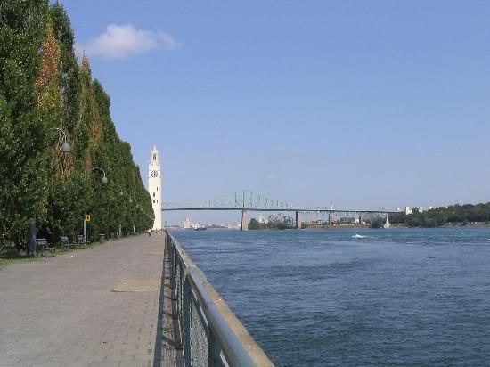 Красивые фото  Монреаля и Квебека Montreal-waterfront