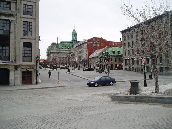 Красивые фото  Монреаля и Квебека Old-montreal