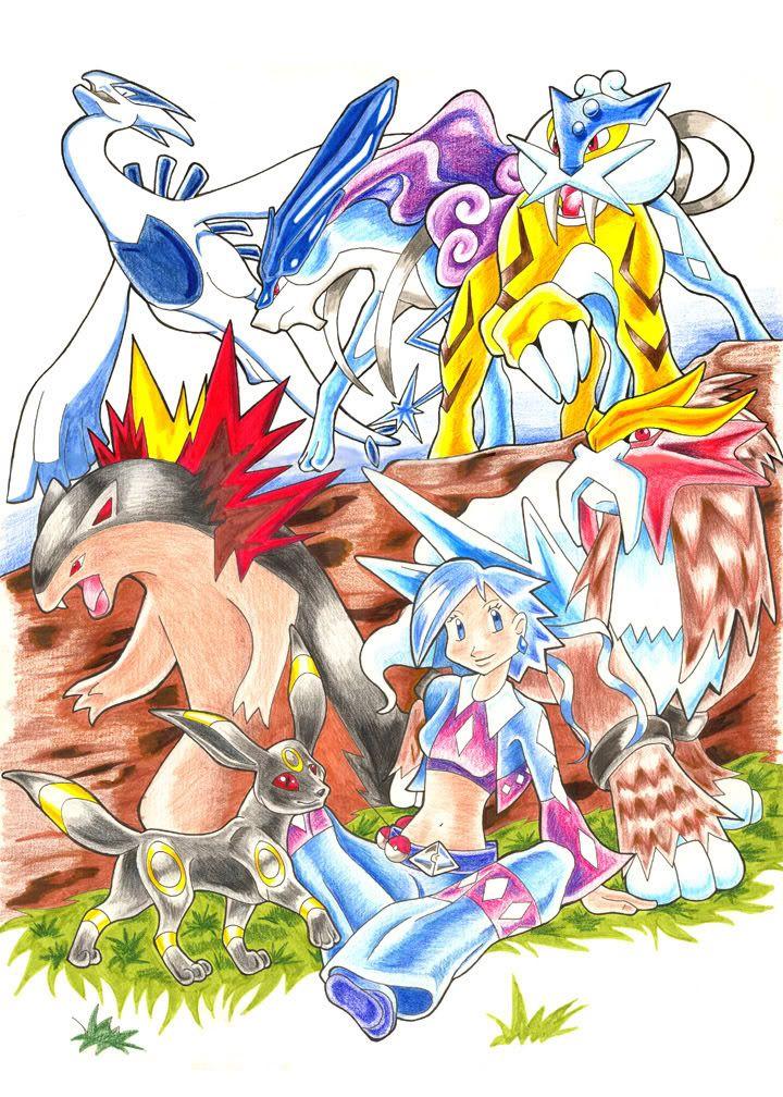 Nhận tìm , post hình Wallpaper pokemon , pokemon Pokemon_Team__GSC_by_Droemar