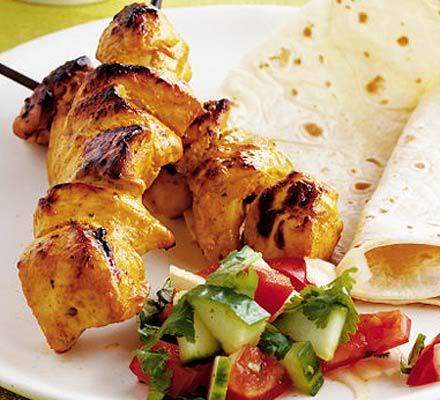 Tikka Kebab thịt cừu với sốt Raita 2382_MEDIUM