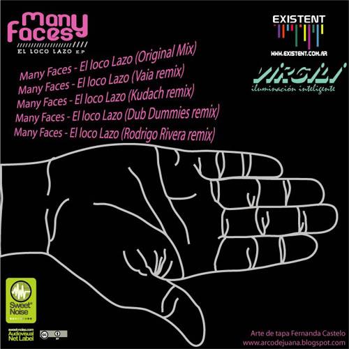 """Sweet Noise"" presenta: ""Many Faces--El Loco Lazo Ep"" Locolazo500xcontra"