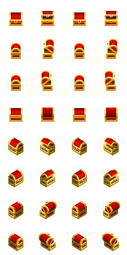 [GameMaker]Pack com 56  Chars Isometricos A67
