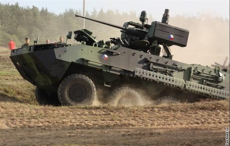 Armée tchèque/Czech Armed Forces Pandur1