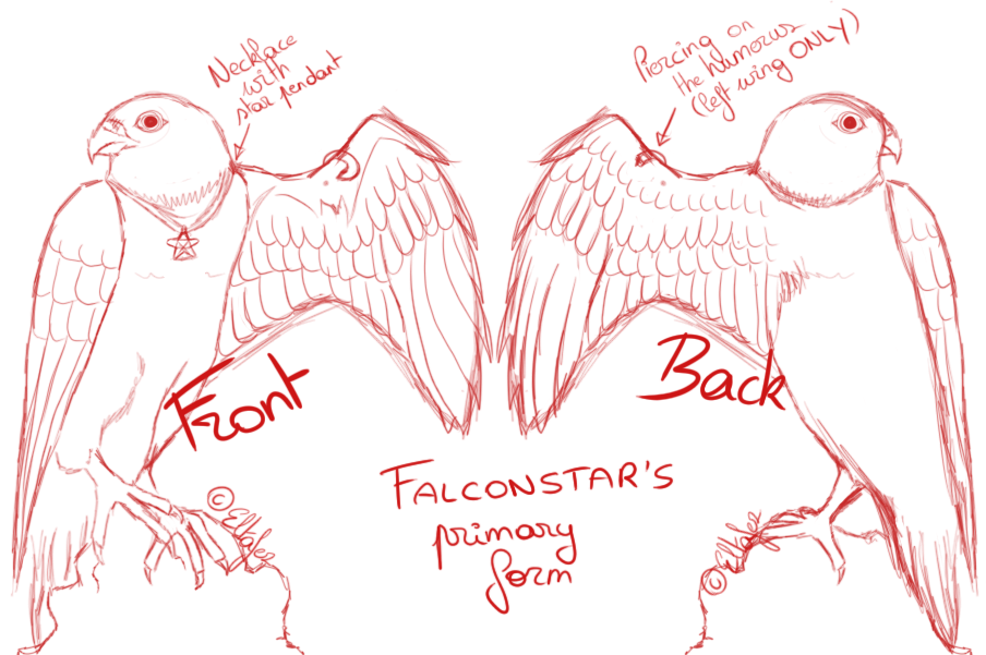 Show your tags and art! Elta_comm-falconstar_sketch