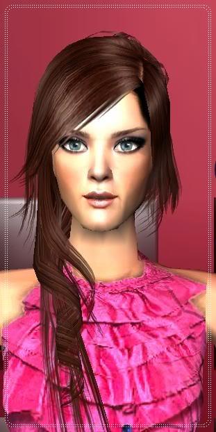 Sims-Ellas/Female Sims Dibujo