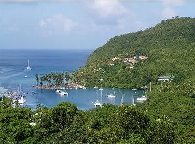 Isla San Martín, Mar Caribe Marigotbahiasantaluciasanmartin-1