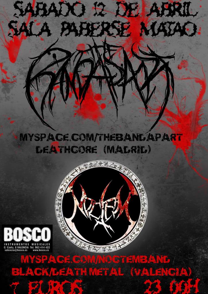 NOCTEM+ THE BAND APART Concierto12abrilcopia_2copia