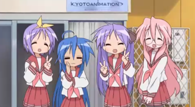 Lucky Star Kyoto Animation Pictures, Images and Photos