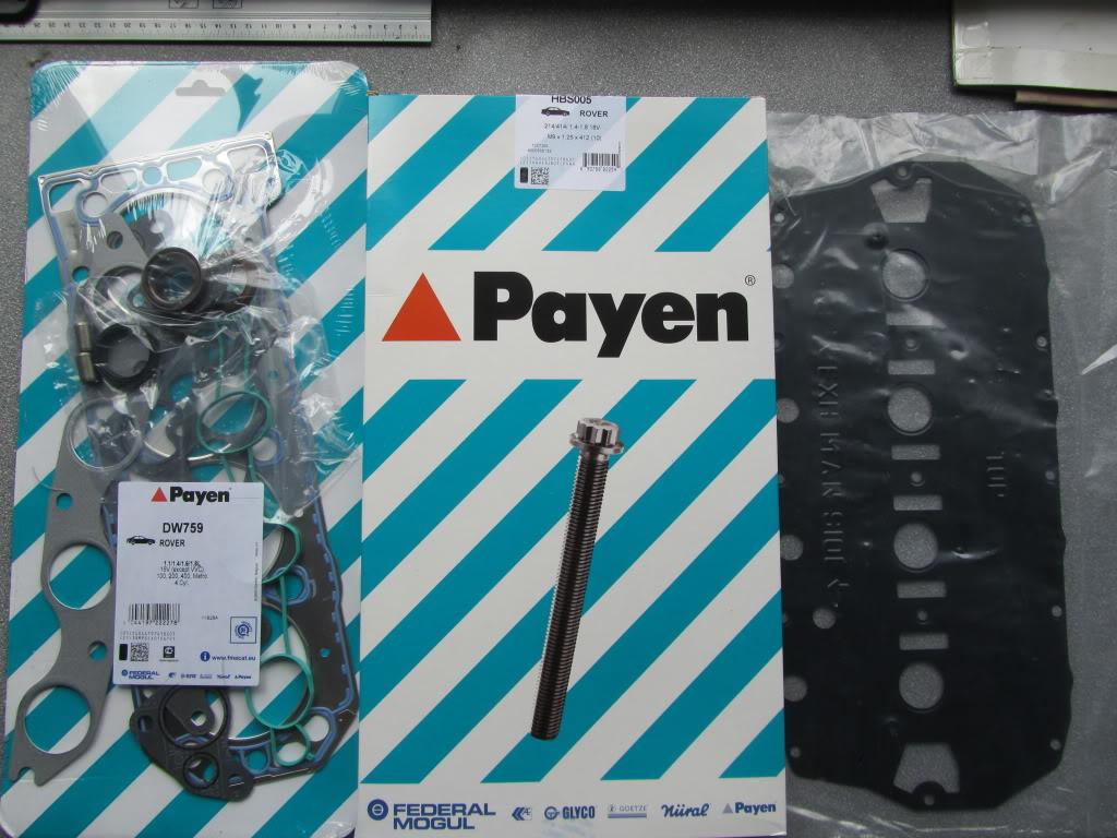 Lavorazione testa + nuova guarnizione Payen IMG_3238