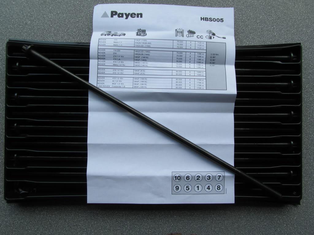 Lavorazione testa + nuova guarnizione Payen IMG_3242