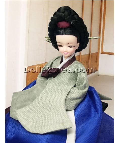 Geleneksel Kıyafetlerle Kore Oyuncak Bebekleri - Sayfa 2 102