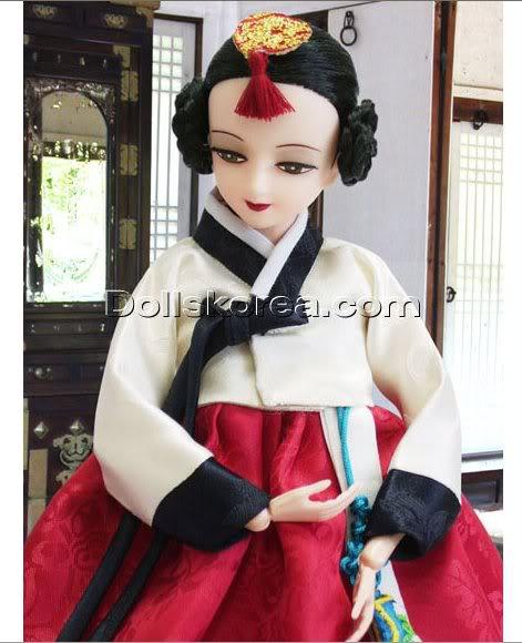 Geleneksel Kıyafetlerle Kore Oyuncak Bebekleri - Sayfa 2 105