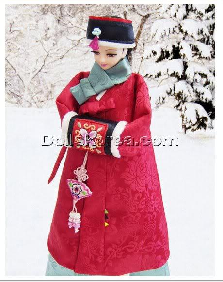 Geleneksel Kıyafetlerle Kore Oyuncak Bebekleri - Sayfa 2 107