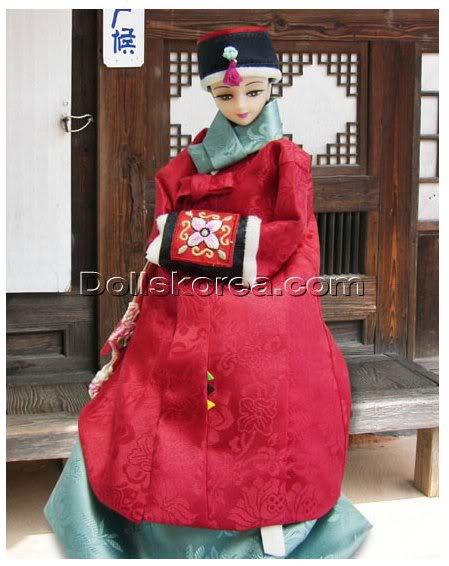 Geleneksel Kıyafetlerle Kore Oyuncak Bebekleri - Sayfa 2 110-1