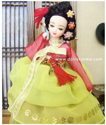 Geleneksel Kıyafetlerle Kore Oyuncak Bebekleri - Sayfa 2 113