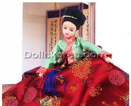 Geleneksel Kıyafetlerle Kore Oyuncak Bebekleri - Sayfa 2 122