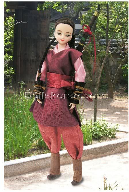 Geleneksel Kıyafetlerle Kore Oyuncak Bebekleri - Sayfa 2 125