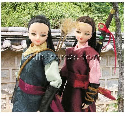 Geleneksel Kıyafetlerle Kore Oyuncak Bebekleri - Sayfa 2 126