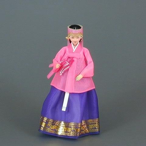 Geleneksel Kıyafetlerle Kore Oyuncak Bebekleri 2-4