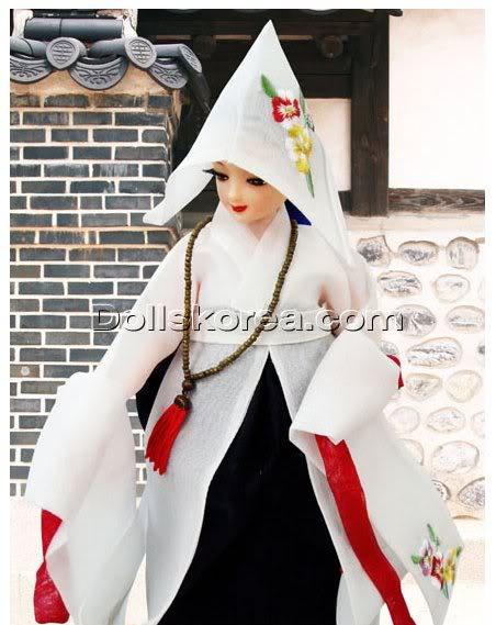 Geleneksel Kıyafetlerle Kore Oyuncak Bebekleri - Sayfa 2 68-1